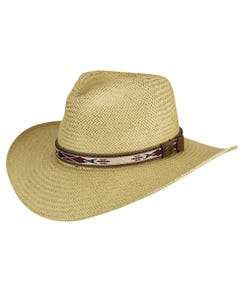 Derian Raindura® Straw Fedora