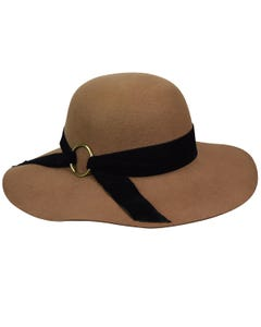 Wharton Wide Brim Floppy Hat