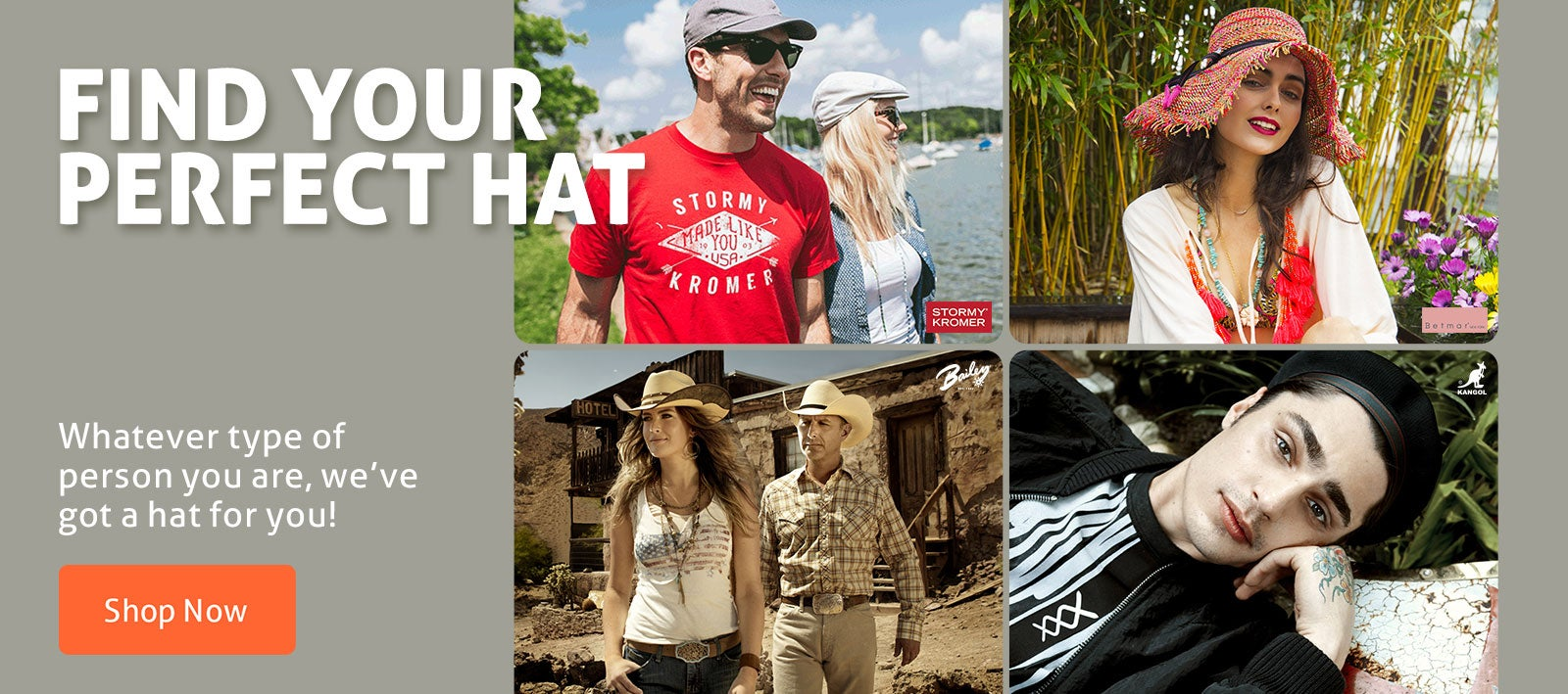 Find your perfect hat!