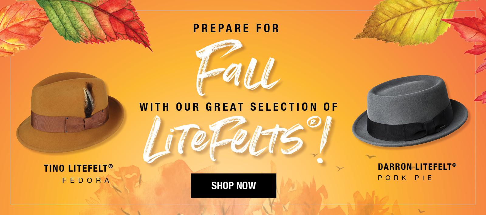 LiteFelt For Fall