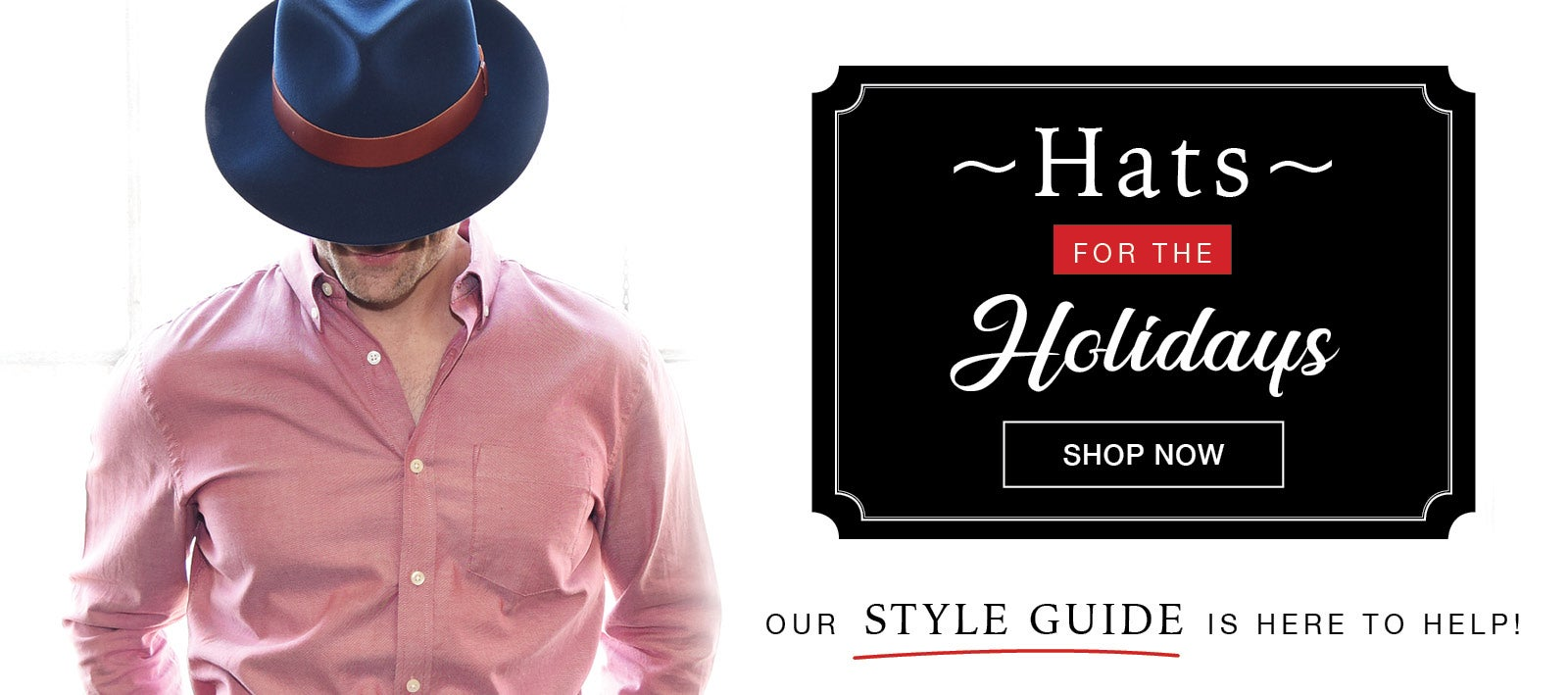 Holiday Hat Styles