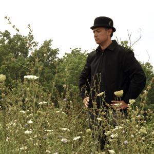 Man Wearing Bowler hat